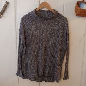 Free People • ribbed mock neck sweater